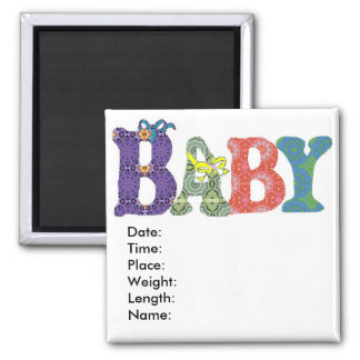 Baby memory to remember magnet