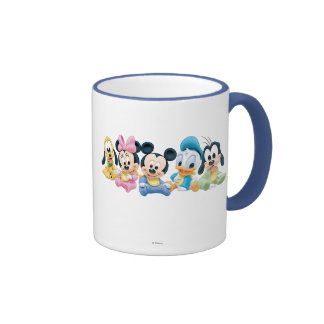 Baby Mickey Mouse and friends Coffee Mugs
