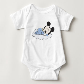 Baby Mickey Sleeping Baby Bodysuit