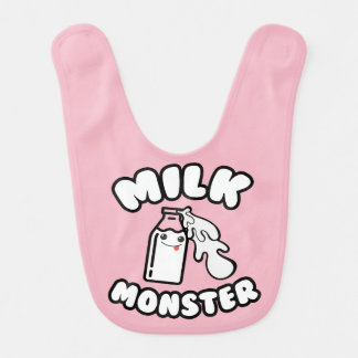 Baby Milk Monster Bib
