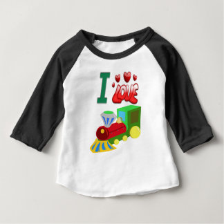 Baby miniature train t shirts