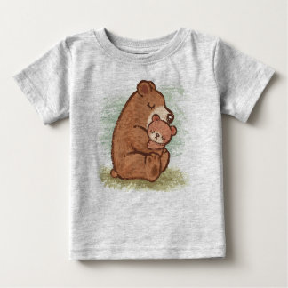 Baby Momma Bear Hug Baby T-Shirt