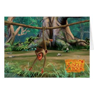 Baby Monkey Card