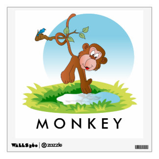 Baby Monkey Wall Sticker