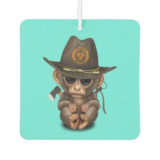 Baby Monkey Zombie Hunter Air Freshener