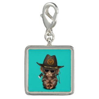 Baby Monkey Zombie Hunter Charms