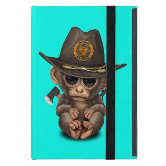 Baby Monkey Zombie Hunter Cover For iPad Mini