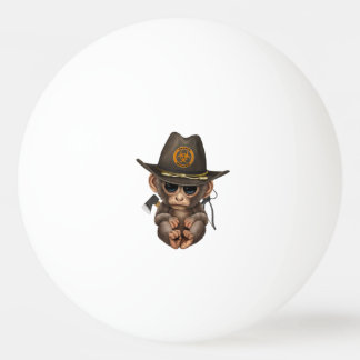 Baby Monkey Zombie Hunter Ping Pong Ball