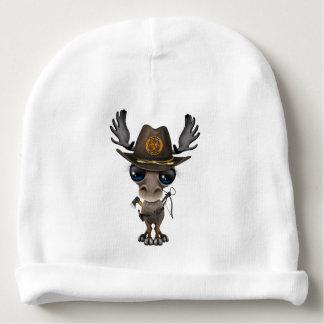 Baby Moose Zombie Hunter Baby Beanie