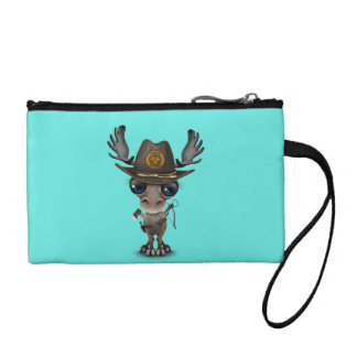 Baby Moose Zombie Hunter Coin Purse