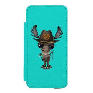 Baby Moose Zombie Hunter Incipio Watson™ iPhone 5 Wallet Case