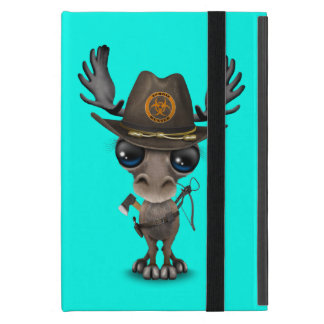 Baby Moose Zombie Hunter iPad Mini Case
