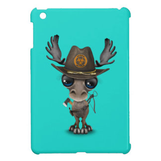 Baby Moose Zombie Hunter iPad Mini Cases
