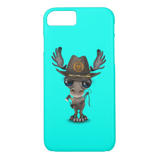 Baby Moose Zombie Hunter iPhone 7 Case