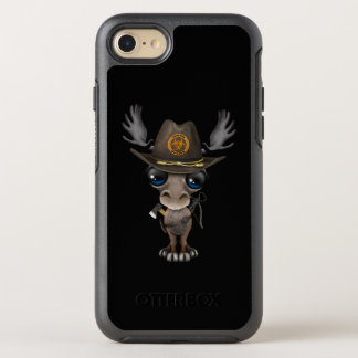 Baby Moose Zombie Hunter OtterBox Symmetry iPhone 8/7 Case