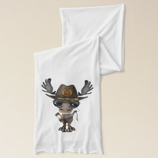 Baby Moose Zombie Hunter Scarf