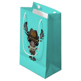 Baby Moose Zombie Hunter Small Gift Bag