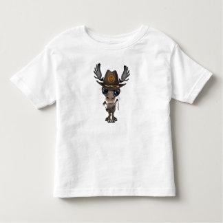 Baby Moose Zombie Hunter Toddler T-shirt