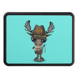 Baby Moose Zombie Hunter Trailer Hitch Cover