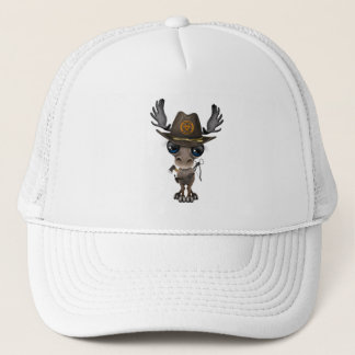 Baby Moose Zombie Hunter Trucker Hat
