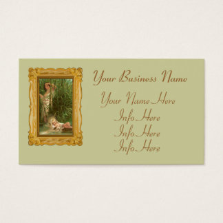 Baby Moses And The River Nile Business Card