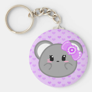 Baby Mouse - Girl Keychain