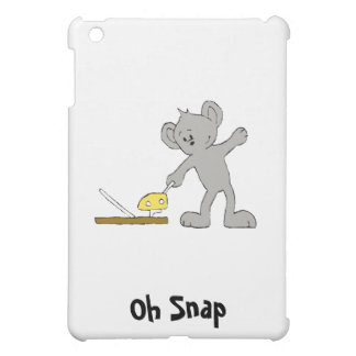 Baby Mouse With Mouse Trap iPad Mini Cover
