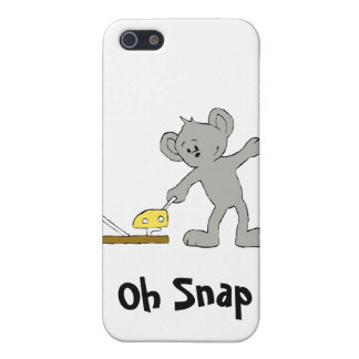 Baby Mouse With Mouse Trap iPhone 5 Cover