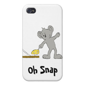 Baby Mouse With Mouse Trap Covers For iPhone 4