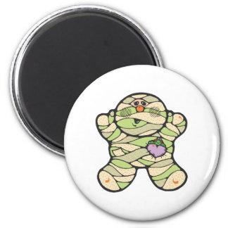 baby mummy 2 inch round magnet