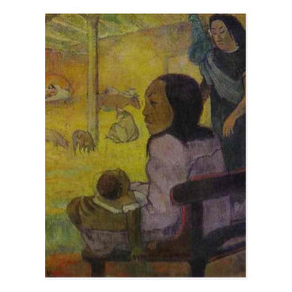 Baby (Nativity of Tahitian Christ) by Paul Gauguin Postcard