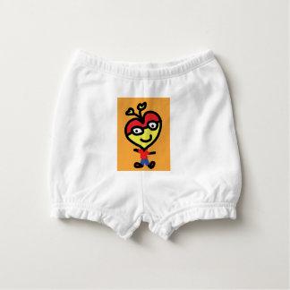 baby nerd heart diaper cover