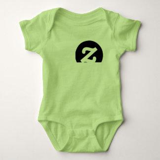 Baby newborn green zazzle ed. cloths baby bodysuit