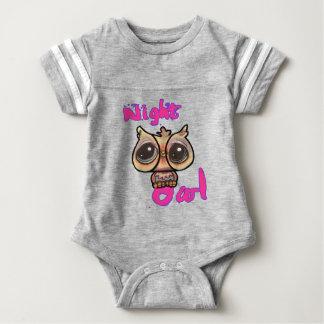Baby night owl baby bodysuit