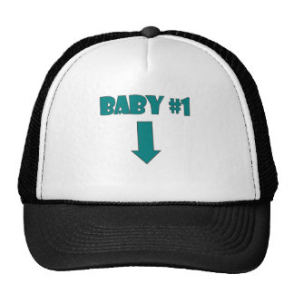 BABY NUMBER ONE.png Trucker Hat