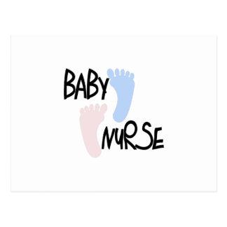 Baby Nurse Postcard