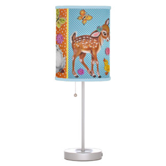 Baby Nursery Child's Lamp Fawn Puppy Bunny Ducky