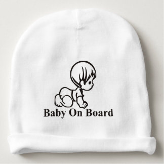 baby-on-boar-1 baby beanie