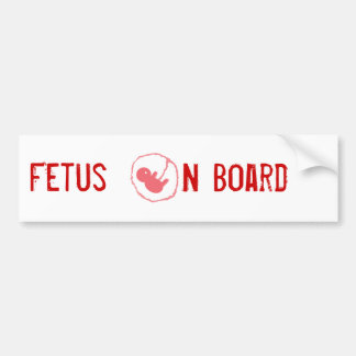 Baby on Board Bumper Sticker