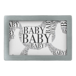 Baby on Rocking Horse Belt Buckles