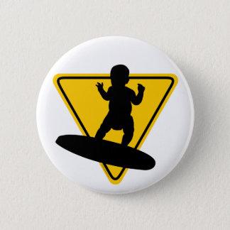 Baby on (Surf) Board 2 Inch Round Button