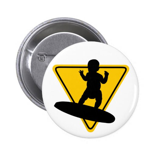 Baby on (Surf) Board Buttons