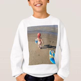 Baby on the beach sweatshirt