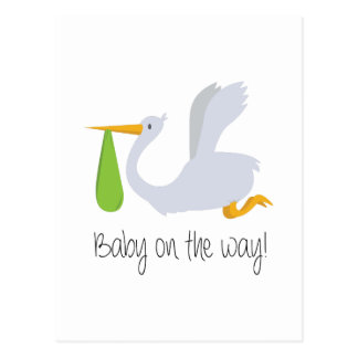 Baby On The Way Postcard