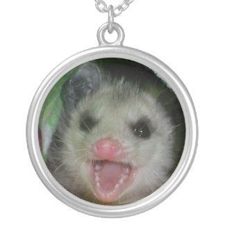 baby opossum necklace