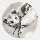 Baby Opossum Stickers