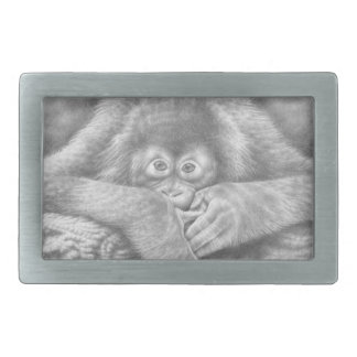 Baby Orangutan Belt Buckle