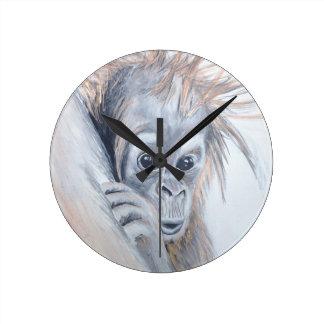 Baby-Orangutan Clocks