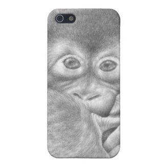 Baby Orangutan iPhone 5/5S Cover