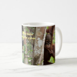 Baby Orangutan Jeffrey Junior of Borneo Coffee Mug